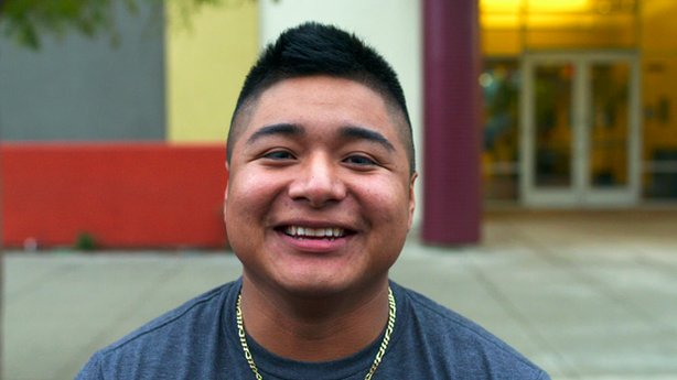An organization called Reality Changers helped San Diego's Eduardo (pictured) turn his life around.