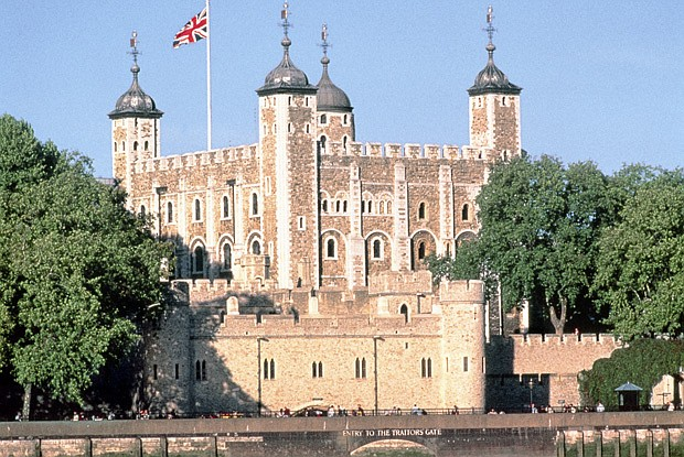White Tower from across the river.