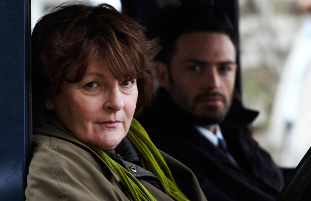 A scene from the series VERA with multi-award-winning actress Brenda Blethyn ...