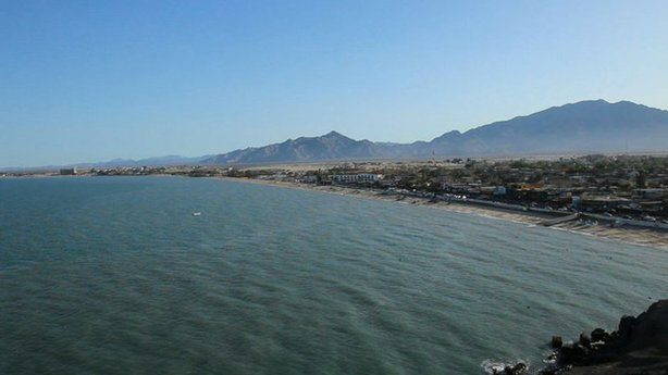 View of the San Felipe coastline.