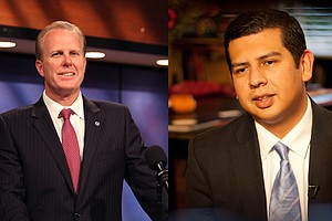 Mayoral Candidates Faulconer, Alvarez Answer Transparency Questions