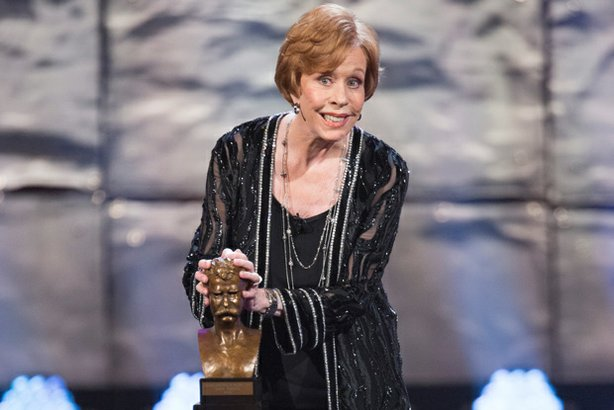 Mark Twain Prize honoree Carol Burnett.
