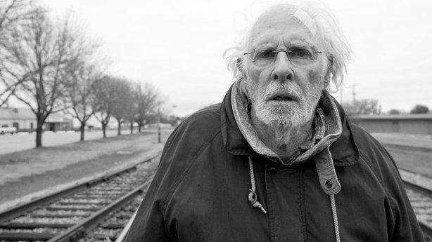 "Bruce Dern stars as an aging man on a mission to claim a million dollar prize in ""Nebraska."""