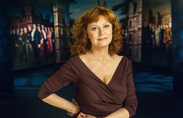 "Academy Award-winning actress Susan Sarandon, host of ""Return To Downton Abbey."""