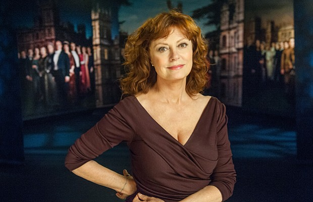 Academy Award-winning actress Susan Sarandon, host of