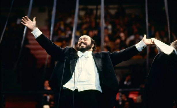 Pavarotti at Madison Square Garden.