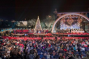 The National Christmas Tree Lighting 2013