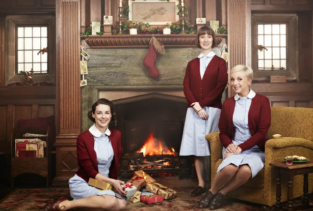 Jessica Raine as Jenny Lee, Bryony Hannah as Cynthia Miller and Helen George ...