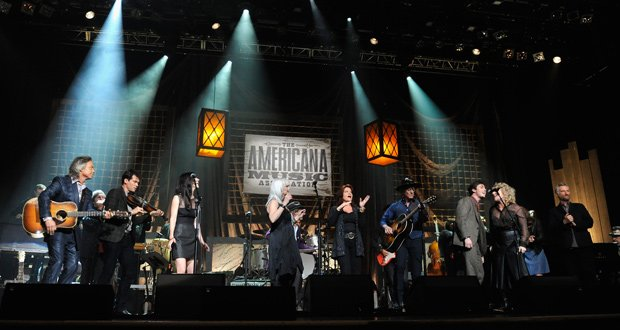 Enjoy selected performances from performers at the Americana Music Festival i...