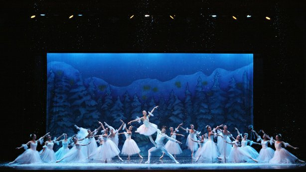 "Performance photo from San Diego Ballet's ""Nutcracker."""