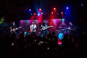 LIVE AT THE BELLY UP: Stripes And Lines/Earl Thomas And The Rhumboogies