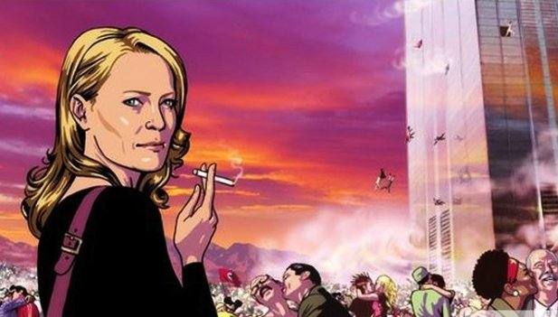 Robin Wright stars as an alternative universe version of herself in the live ...