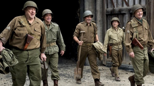 """The Monuments Men"" starring and directed by George Clooney opens in area the..."