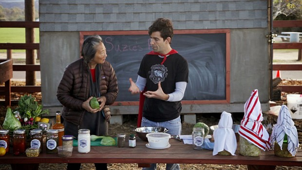 Chef Su-Mei Yu and the Pro Kids learn about fermentation with Austin Durant a...