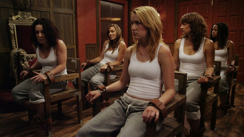 Zoe Bell stars as a woman forced to fight to the death in