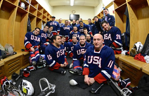USA Sled Hockey Team