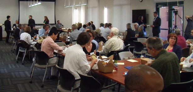 San Diego leaders and environmentalists gathered at the San Diego Foundation ...