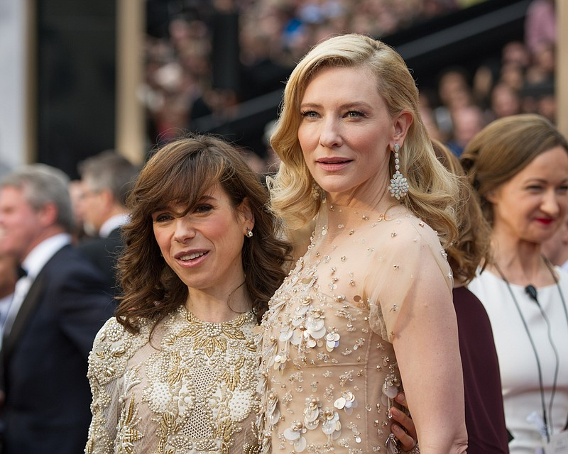 Sally Hawkins and Cate Blanchett (both nominees for
