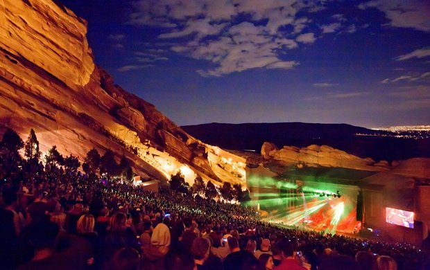 Brit Floyd live at at the legendary Red Rocks Amphitheatre in Denver, Colorado.