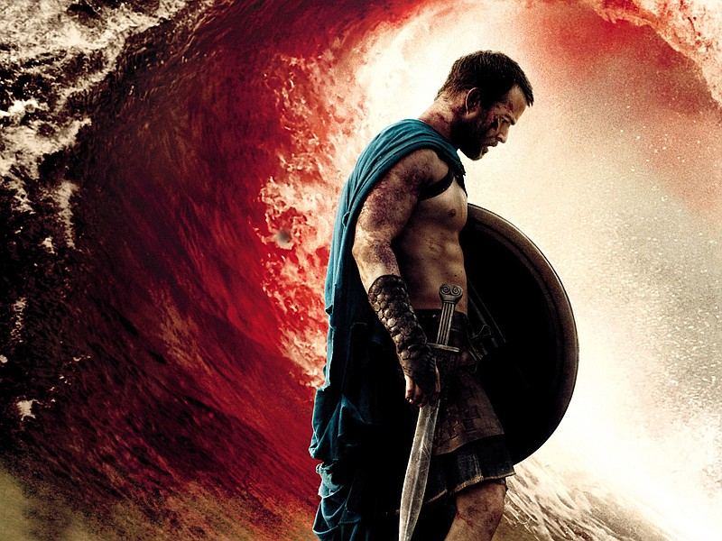 Blood washes over Sullivan Stapleton like a tidal wave in