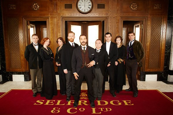 The cast of MR. SELFRIDGE, SEASON 2.