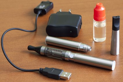A basic kit for E-cigarettes.