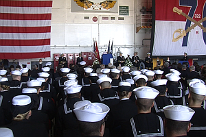 USS Reagan Marks 3rd Anniversary Of Japan Earthquake, Tsunami