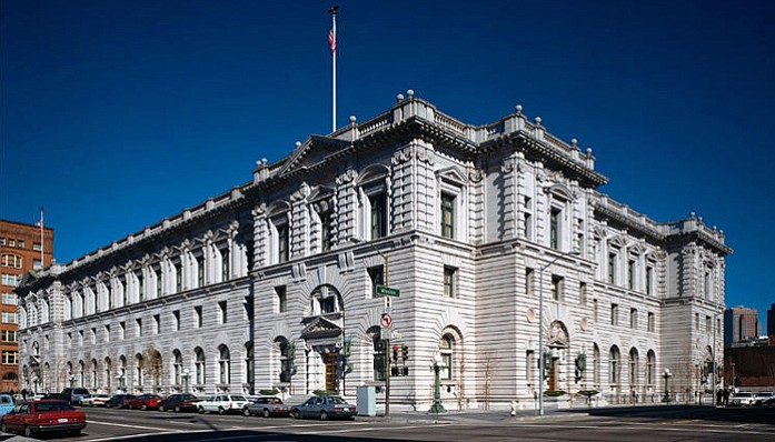 The 9th U.S. Circuit Court of Appeals is located in San Francisco.