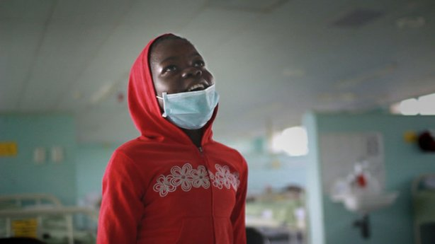 "10-year-old Nokubegha, featured in FRONTLINE's ""TB Silent Killer,"" is battlin..."