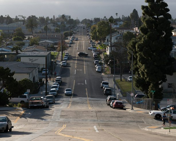 52nd Street and Orange Avenue in City Heights.