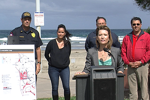 New Maps Show Tsunami Risk Zones In San Diego County