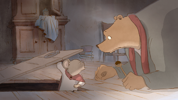 "The French-Belgian co-production ""Ernest and Celestine"" was nominated for a best animated film Oscar this year."