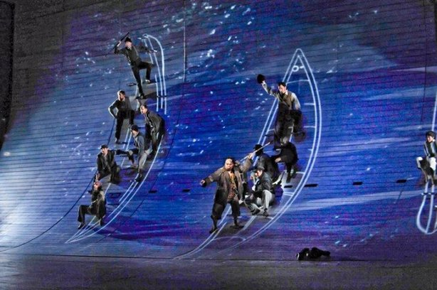 "San Diego Opera staged ""Moby-Dick"" in 2012. Ambitious and well-received, it is cited as an example of the opera taking risks in its line-up."