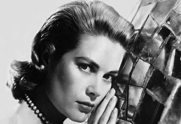 Portrait of Grace Kelly while she was Alfred Hitchcock's favorite actress. Sh...