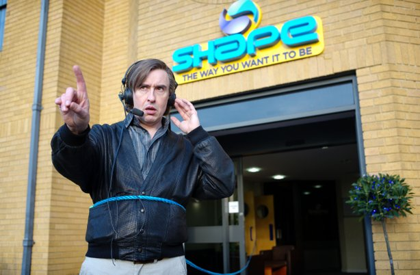"Steve Coogan reprises his BBC TV role for the feature film, ""Alan Partridge."""