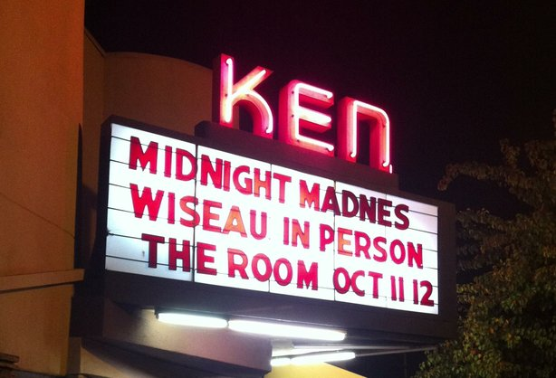"The latest ritual at the Ken Cinema was the addition of midnight screenings of Tommy Wiseau's ""The Room."""