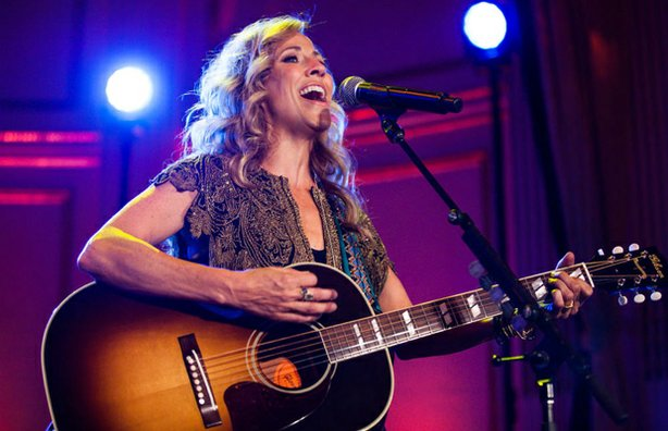 "On the eve of the release of her new album, ""Feels Like Home,"" (Sept. 9, 2013) nine-time Grammy winner Sheryl Crow delivered a powerhouse performance in the ornate Grand Ballroom of The Plaza in New York City. Crow led her six-piece band in a career-spanning set that ran from her breakthrough hit, ""All I Wanna Do,"" right up to her latest single, ""Callin' Me When I'm Lonely."""