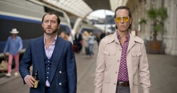 "Jude Law and Richard E. Grant play against type in Richard Shepard's ""Dom Hemingway."""