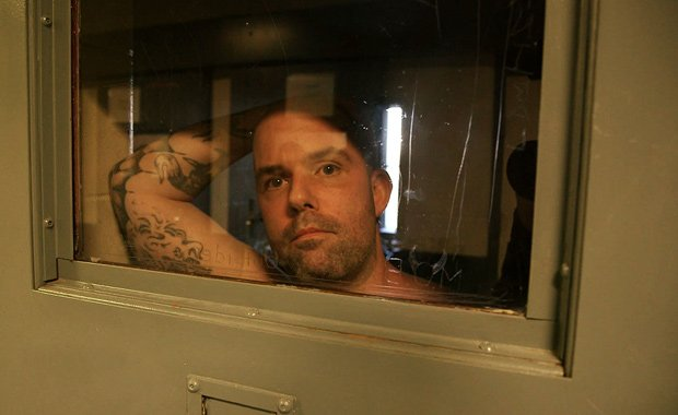 Prisoner in solitary. Around 80,000 Americans are held in solitary confinemen...