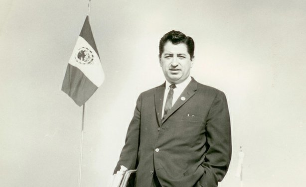 Ruben Salazar during his time as The Los Angeles Times Bureau Chief in Mexico City.
