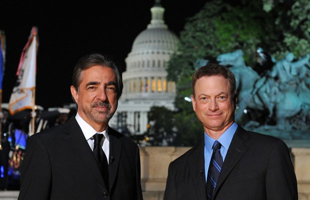 Actors Joe Mantegna and Gary Sinise co-host the 2014