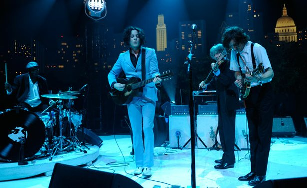 "White Stripes leader Jack White performs in support of his solo LP ""Blunderbu..."