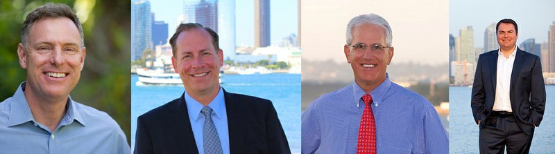 The candidates running for San Diego's 52nd Congressional District: Scott Pet...