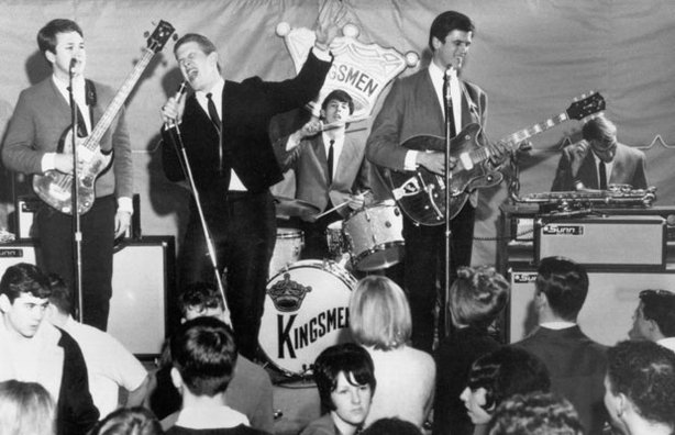 "The Kingsmen perform ""Louie, Louie"" in this celebration of the golden era of ..."