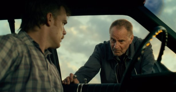 """Michael C. Hall and Sam Shepherd star in """"Cold in July,"""" adapted from Joe R. Lansdale's novel."""