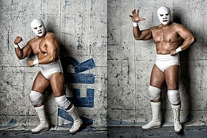 SNAPSHOT: Loco For Lucha - Mexican Wrestlers