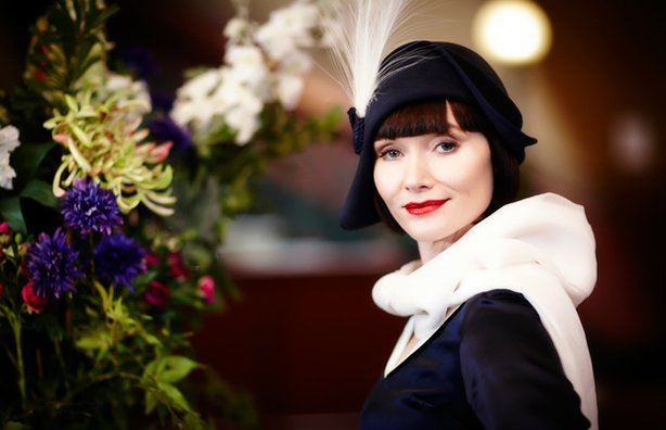 "The Honorable Miss Phryne Fisher (Essie Davis, ""Girl With A Pearl Earring"") i..."
