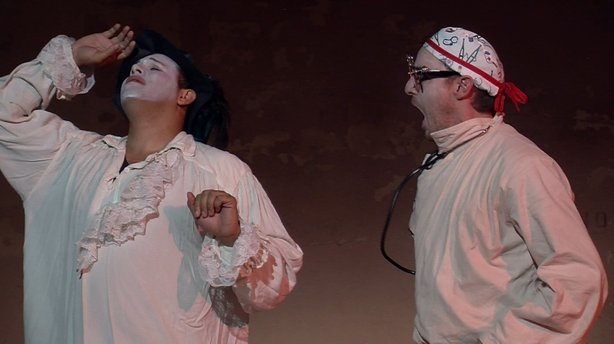 "Patrick Kelly and Michael Nieto star in ""Doctor Schmoctor,"" a mash up of Moli..."