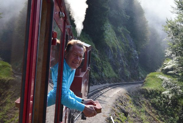 In GREAT CONTINENTAL RAILWAY JOURNEYS, British broadcaster and journalist Mic...