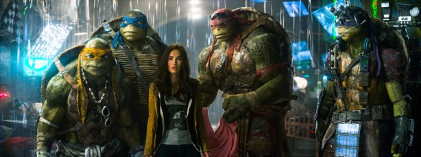 "Megan Fox is the center of attention in the new reboot of ""Teenage Mutant Nin..."